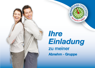 Bild Einladung Abnehm-Gruppe