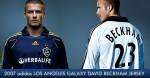 LA Galaxy mit Starfußballer David Beckham